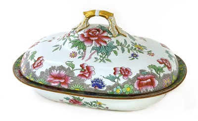 Lot 534-A Spode stoneware tureen and cover
