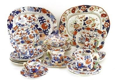 Lot 533-Mason's ironstone dinnerwares