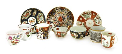 Lot 520-A Worcester Old Japan pattern trio