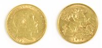 Lot 41-Coins, Great Britain, Edward VII (1901 - 1910)