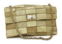 Lot 749-A Chanel re-issue patchwork flap handbag