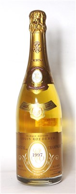 Lot 29-Louis Roederer, Cristal, 1997, one bottle