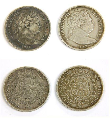 Lot 24-Coins, Great Britain, George III (1760-1820), Halfcrown