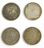Lot 24-Coins, Great Britain, George III (1760-1820), Halfcrown