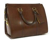 Lot 764-A Swaine Adeney Brigg mini 'Pullman' holdall travel handbag