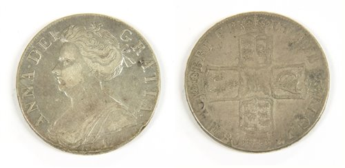 Lot 18-Coins, Great Britain, Anne (1702-1714)