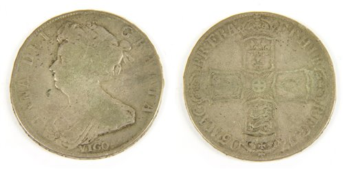 Lot 16-Coins, Great Britain, Anne (1702-1714)