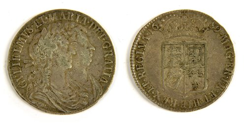Lot 15-Coins, Great Britain, William and Mary (1689-1694)