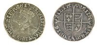 Lot 10-Coins, Great Britain, Mary (1553 - 1554), Groat