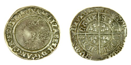 Lot 11-Coins, Great Britain, Elizabeth I (1558 - 1603)