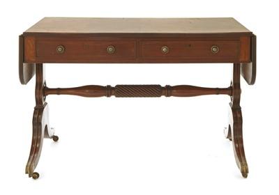 Lot 146 - A Regency mahogany sofa table