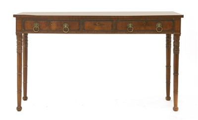 Lot 45-A mahogany serving table