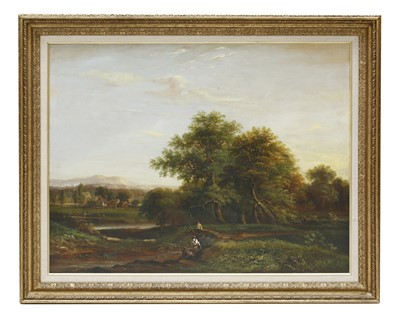 Lot 23-English School, 19th century