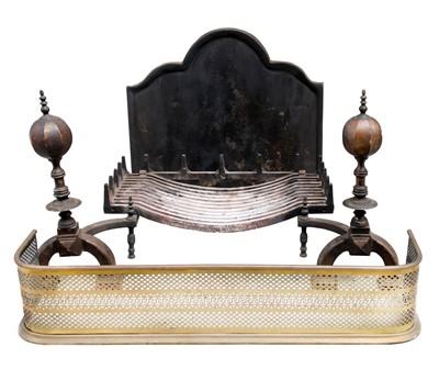 Lot 108 - Fireplace furniture