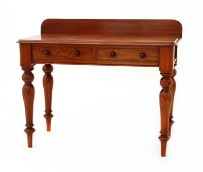 Lot 194 - A Victorian mahogany side table
