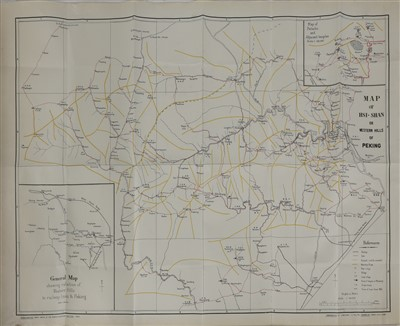 Lot 331 - A copper engraved map of a journey from Hang-Tchoo-Foo to Quang-Tchoo-Foo