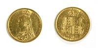 Lot 35-Coins, Great Britain, Victoria (1837 - 1901), Half Sovereign, 1892