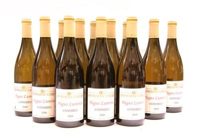 Lot 8-Domaine Cheze, Pagus Luminis, Condrieu, 2006, twelve bottles (two boxes of six)