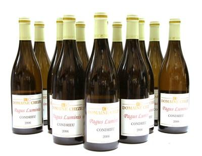 Lot 2-Domaine Cheze, Pagus Luminis, Condrieu, 2006, twelve bottles (two boxes of six)
