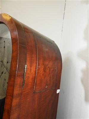 Lot 695-A regulator longcase clock