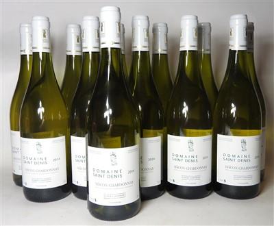 Lot 17-Domaine Saint Denis, Mâcon Chardonnay, 2014, twenty-four bottles (boxed)
