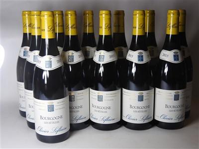 Lot 15-Oliver Leflaive, Bourgogne Les Sétilles, 2015, twelve bottles (boxed)
