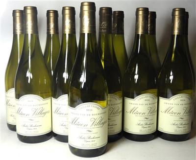 Lot 23-Assorted Mâcon-Villages 2016: André Bonhomme (twelve bottles) and Talmard (twelve bottles)