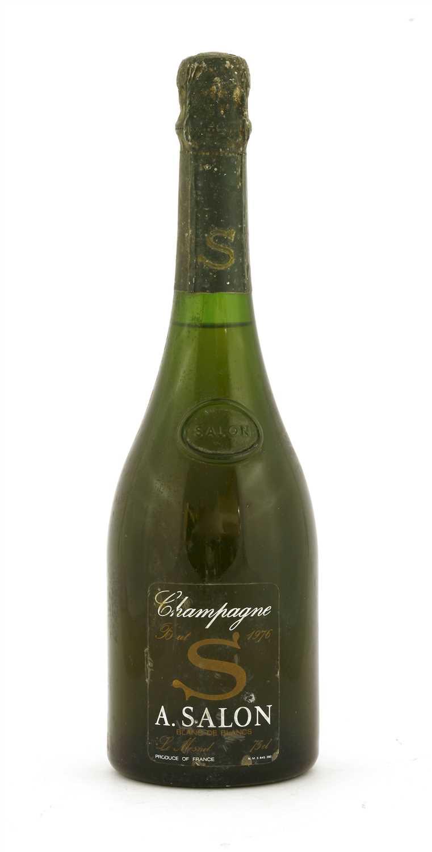 Lot 54-Salon, Le Mesnil, Blanc de Blancs, 1976, one bottle