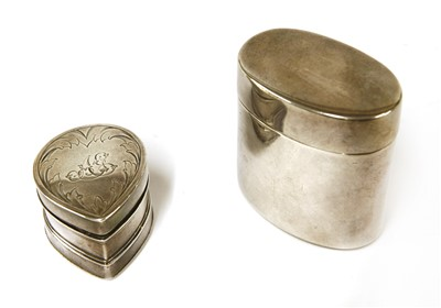 Lot 32-A large Victorian silver nutmeg grater
