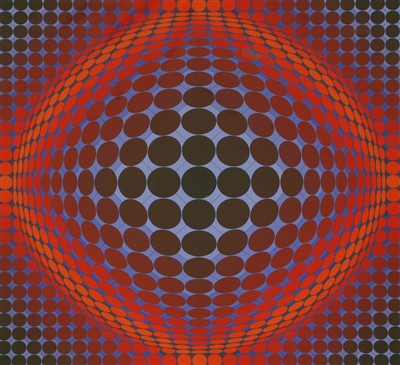 Lot 44-*Victor Vasarely (1906-1997)