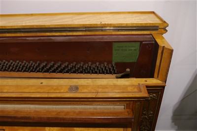 Lot 621 - An exhibition quality and ormolu-mounted upright piano