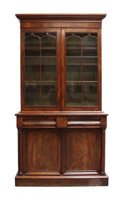 Lot 139 - A Victorian mahogany bookcase