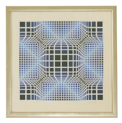 Lot 41-*Victor Vasarely (1906-1997)