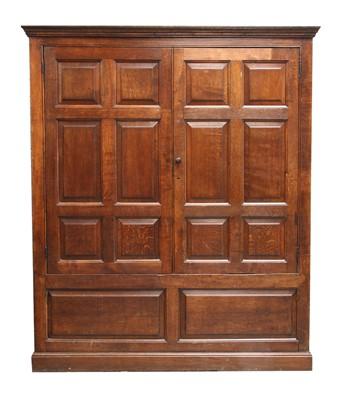 Lot 192 - An oak cupboard