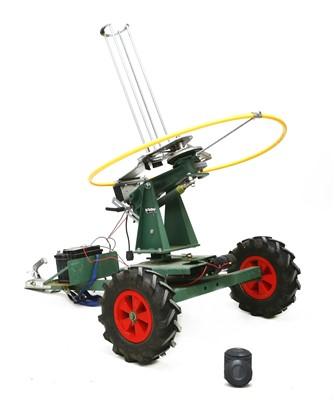 Lot 207 - A modern Bowman battery powered clay pigeon launcher