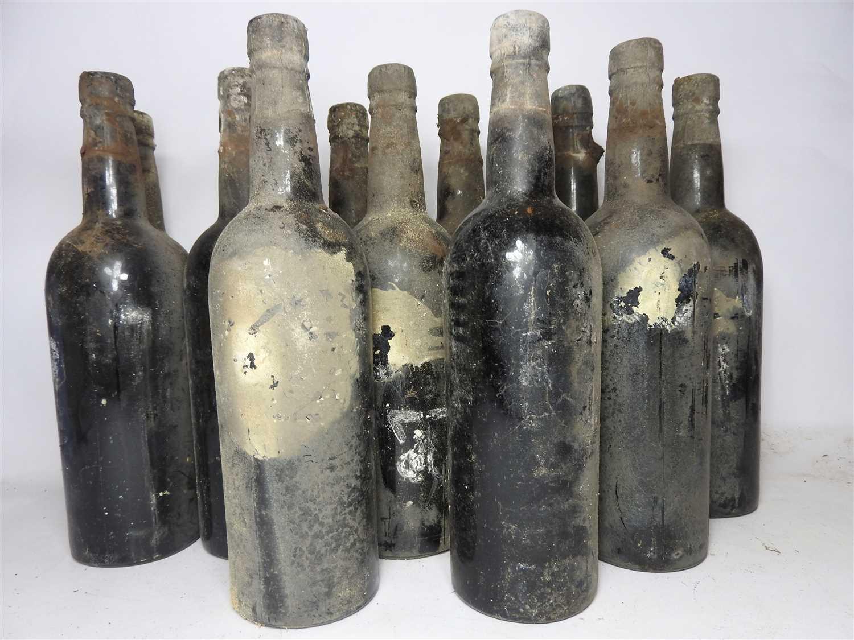 74 - Vintage Port, 1927, UK bottled, twelve bottles (labels lacking, date on capsule)