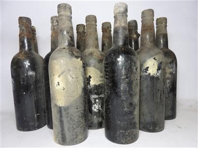 Lot 74-Vintage Port, 1927, UK bottled, twelve bottles (labels lacking, date on capsule)