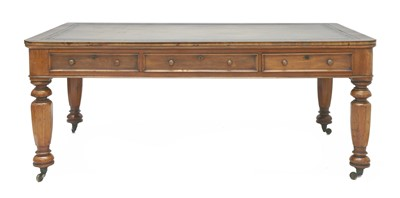 Lot 149 - A Victorian library table