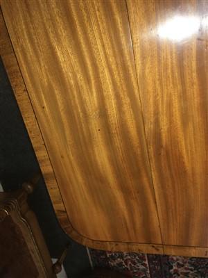 Lot 34 - A Regency strung satinwood(?) sofa table