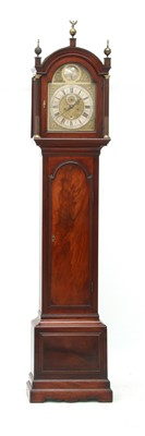 Lot 158 - A George III mahogany eight-day longcase clock