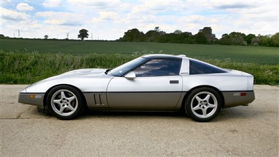 Lot 4-1987 Corvette Callaway Twin Turbo