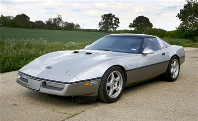 Lot 4-1987 Corvette Callaway Twin Turbo