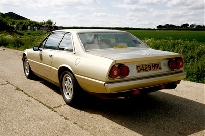 Lot 3-1986 Ferrari 412i