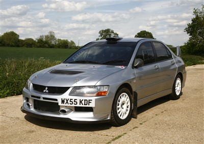 Lot 7-2005 Mitsubishi Evo IX Group N rally car