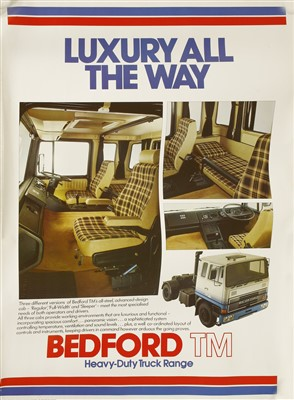 Lot 13-Ten Bedford Lorry posters