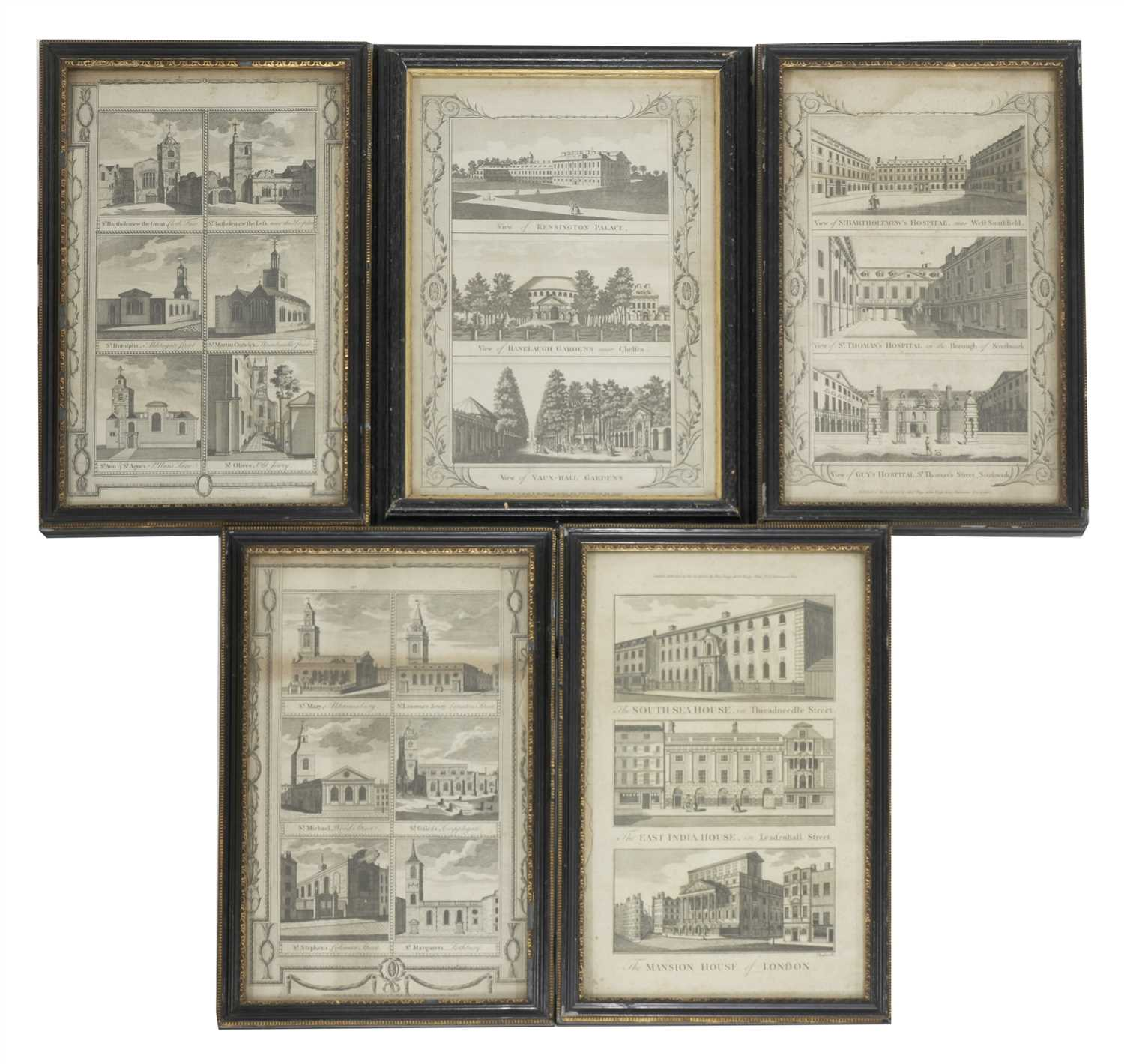 Lot 22-18TH CENTURY ENGRAVINGS