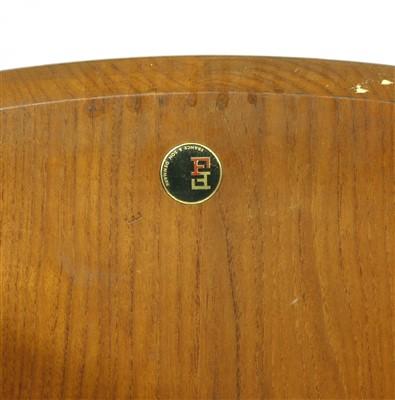 Lot 281-A Danish teak drop-leaf dining table