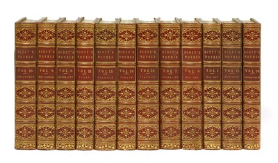 Lot 96 - Scott, Walter: The Works in 52 Volumes.