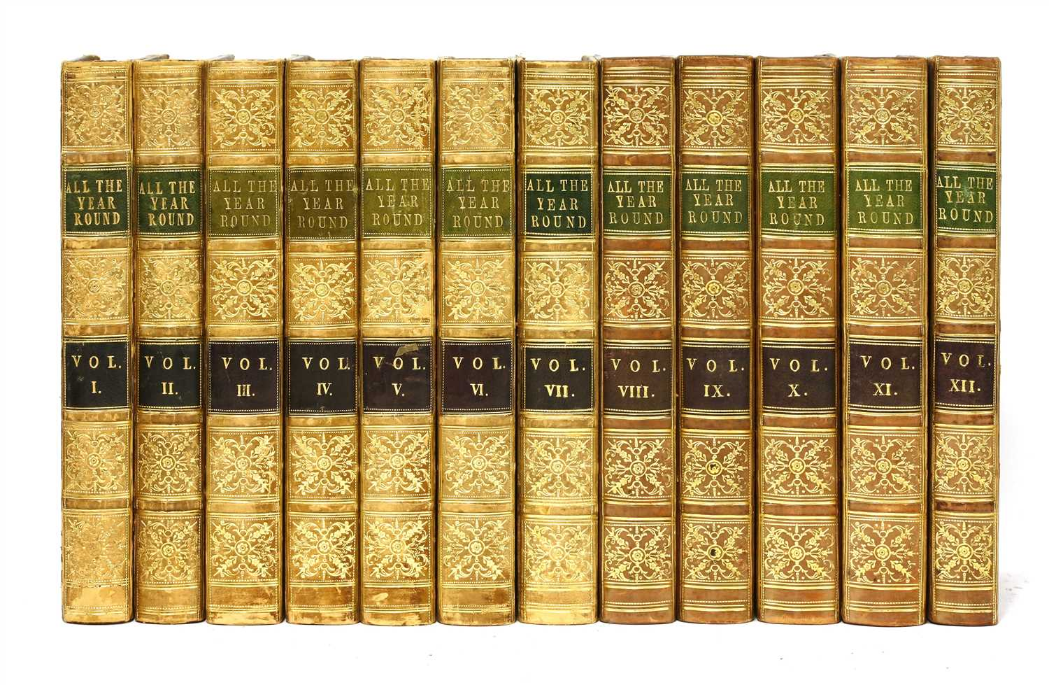 Lot 91 - 1- Dickens, Charles (Edit): All the year round