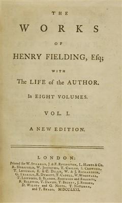 Lot 92 - Fielding, Henry: The Works